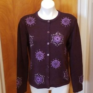 Christopher & Banks Button Front Sweater